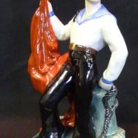 A Russian porcelain figure  Hammer:£1,400