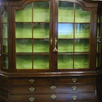 A 19th Century Dutch Mahogany Large Bookcase Hammer price: £1,400