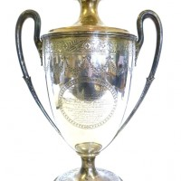 George III Maritime interest large silver presentation cup.  Hammer: £7,200