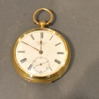 "An 18ct. Gold Pocket Watch ""The Ludgate"" Watch By J W Benson, London, 104.9g all in Hammer : £700"